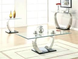 glass coffee table set of 3 glass living room table set coffee table charming tables sets ideas
