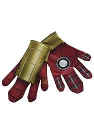 Iron Patriot Halloween Costume Mens Halloween Gloves