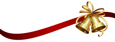christmas ribbon christmas ribbon and bells transparent png stickpng