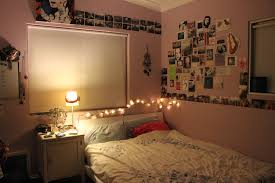 bedrooms string lights in bedroom facing with gracia