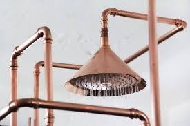 Outdoor Shower Fixtures Copper - copper shower fixtures best showers 2017