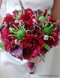 wedding flowers perth scottish theme wedding flowers thistle and