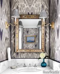 French Powder Room 40 Gorgeous Powder Rooms With Extra Pow Ikat Silk And Wallpaper