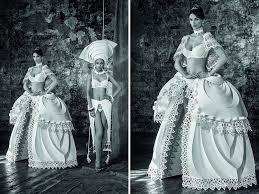 paper wedding dress intricate paper wedding dresses by asya kozina