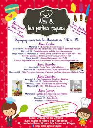 cours de cuisine pour enfant site officiel de la mairie de six fours les plages atelier de