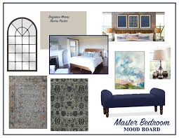 Interior Design Idea Board by The Design Process Master Bedroom Mood Board Living Solutions Blog