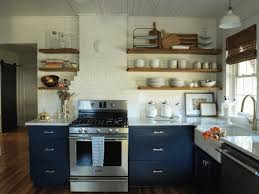 Kitchen Cabinets Open Shelving Diy Open Shelving Striped Light Gray Wooden Wall Mounted Cabinet