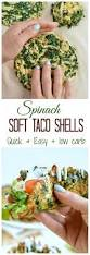 low carb taco shells with spinach sweetashoney