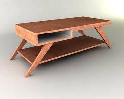 Retro Modern Desk Retro Modern Eames Style Coffee Table Furniture Plan