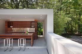 kitchen covered modern outdoor kitchens with woden kitchen set