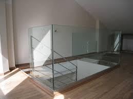 barandilla de cristal barandilla de cristal y acero