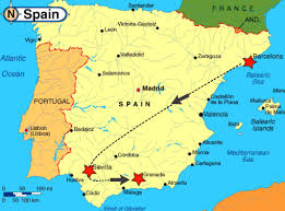 Alicante Spain Map by Itinerary Flight Info Gd Spain Trip 2015