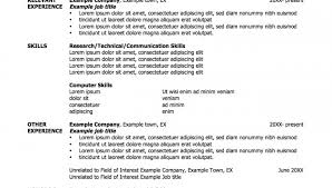 resume outline example resume template classic 2 0 blue classic 2