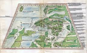 Map Northern Europe by Unknown Europe The Mapping Of The Northern Countries By Olaus