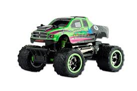 zombie monster jam truck amazon com ninco parkracers zombie attack rc monster truck toys