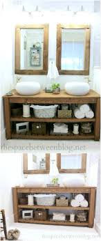 Build Bathroom Vanity 20 Gorgeous Diy Bathroom Vanities To Beautify Your Routine