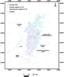 tertiary u2013quaternary faulting and uplift in the northern oman hajar