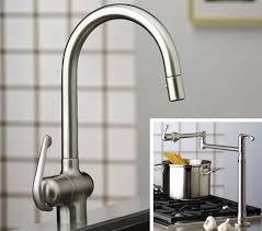 Pot Filler Kitchen Faucet New Grohe Ladylux Pro Kitchen Faucet And Ladylux Pro Deck Mount