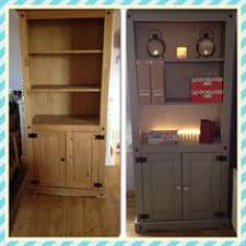 Corona Mexican Pine Bedroom Furniture Corona Mexican Pine Tv Unit Post Makeover Painted White And