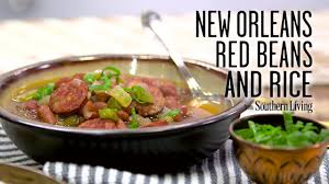 slow cooker red beans and rice cooking light new orleans red beans and rice recipe myrecipes