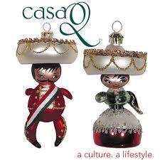 hispanic ornaments rainforest islands ferry