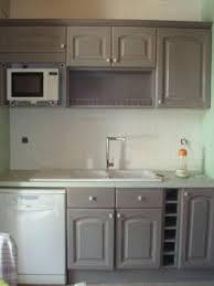 cuisine repeinte en gris ophreycom cuisine blanche repeinte praclavement dacchantillons