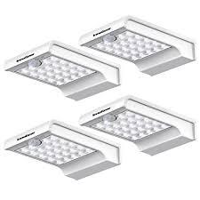 bright night solar lighting innogear 24 led solar lights motion sensor wall light auto on off
