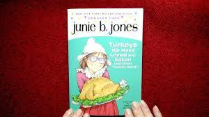 junie b jones turkeys we loved and eaten read by nita