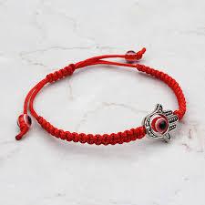 red bracelet with eye images Evil eye red bracelet for woman braided red chain bracelet women jpg