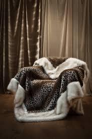 Fake Fur Throws Faux Fur Throw Leopard Mille Boutique