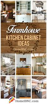 how to make cheap kitchen cabinets look better 35 best farmhouse kitchen cabinet ideas and designs for 2021