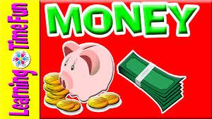 learn about money for kids money currency kindergarten money