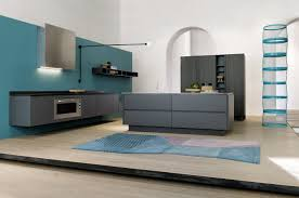 wall hung kitchen cabinets grey cabinets blue walls design http www 1stkitchenideas com