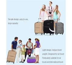 light luggage for international travel sets 20 24 28 business ultra lightweight luggage sets waterproof