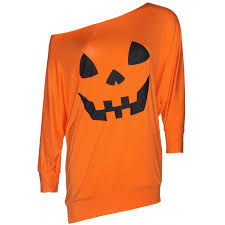 Plus Size Halloween T Shirts by Pumpkin Jersey Off The Shoulder Tunic Dress