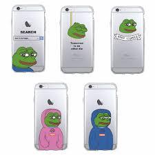 Meme Iphone 5 Case - tomocomo for iphone 7 7plus 6 6s 6plus 8 8plus x 5 5s se pepe