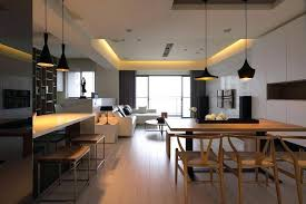 salon salle a manger cuisine salon salle a manger cuisine 50m2 cuisine ouverte sur salon en 55