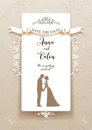 wedding cards for and groom wedding invitation with and groom design