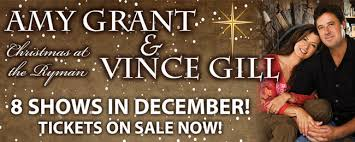 grant christmas grant and vince gill s christmas at the ryman wsm fm1