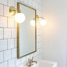Mid Century Modern Bathroom Lighting Modern Bathroom Sconces Playmaxlgc