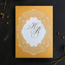 Foil Wedding Invitations Gold Foil Wedding Invitations Exquisite Designs