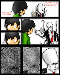 Slender Meme - bastard slender slender man know your meme