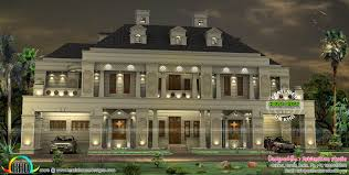 homes design palace like colonial home