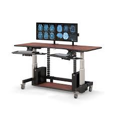 dual monitor adjustable standing computer desk afcindustries com