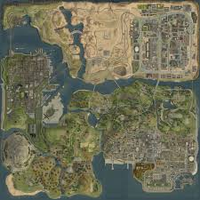 Satellite View Map Gta V Satellite View Map To Get A Better Sense Of Scale Gta V