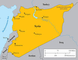 map of syria in the syrian deadlands by charles glass the new york review