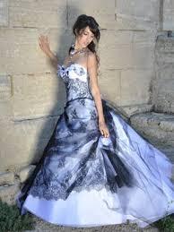 robe de mari e noir et blanc robe margot les mariées de provence