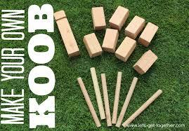 diy koob the best lawn game ever