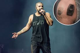 drake gets drakkar noir bottle tattoo rap up