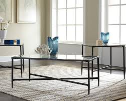 Ashley Furniture Glass Coffee Table Augeron Occasional Table Set 3 Cn Corporate Website Of Ashley
